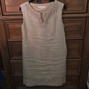 Dresses & Skirts - Ann Taylor Loft linen shift dress